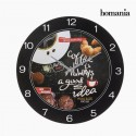 Reloj de pared Food